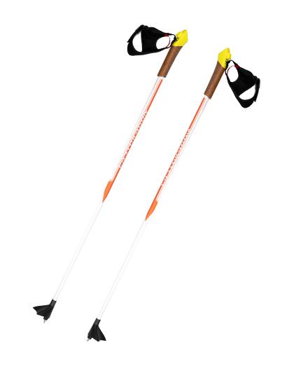 Hochwertiger Aluminium-Langlauf-Skistock mit Korkgriff